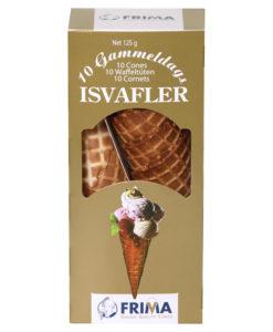 Jäätisevahvel 10 tk pappkarbis Frima 125g