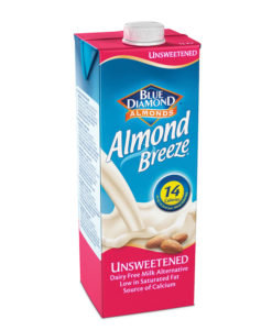 Mandlijook magustamata Almond Breeze 1L
