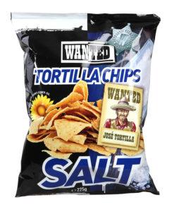 Tortilla krõps soolaga Wanted 225g