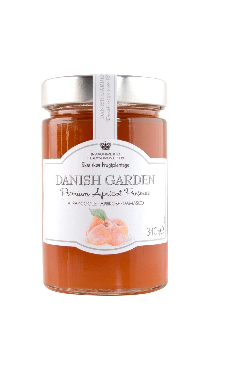 Apricot jam Danish Garden 340g - Lejos Eesti OÜ